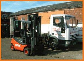 Forklift truck hire - Winchester - Geco Lift Trucks Ltd - Forklift 2