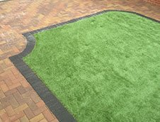 artificial lawn installations