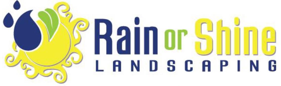 Rain or Shine Landscaping Company Logo