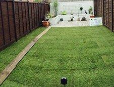 artificial lawn design