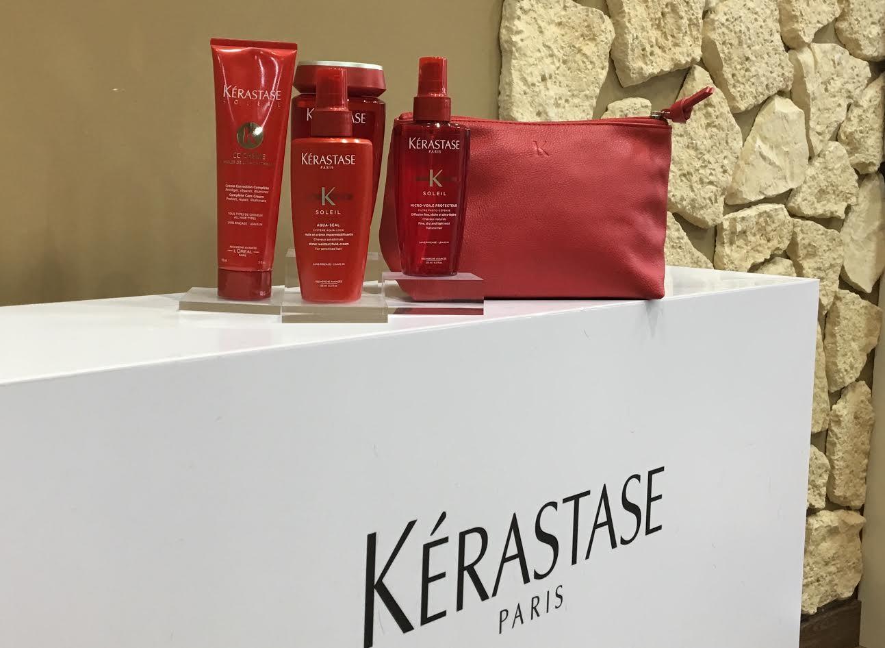 Sacs et Pochette en cadeau chez Attitude coiffure Rueil Malmaison - Achats produits Kérastase