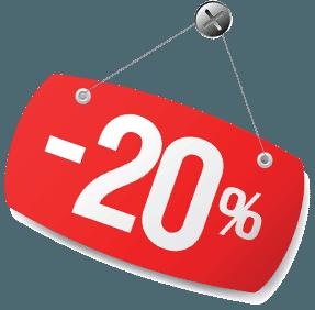 SCONTO  20% SULLE BICICLETTE IN NEGOZIO