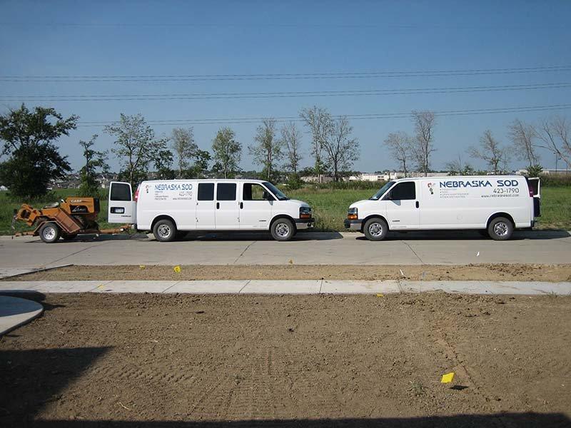 Nebraska Sod vehicles