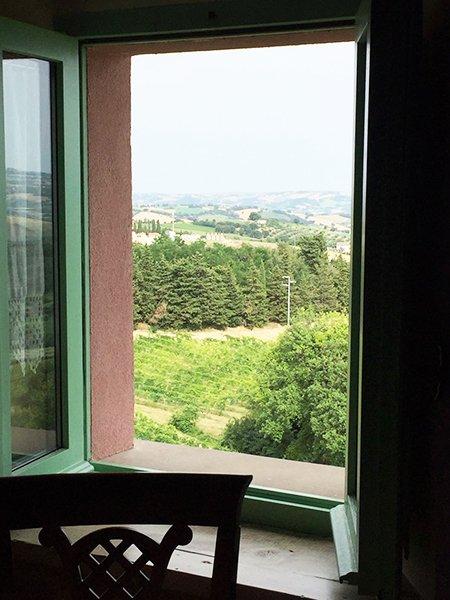 Vista Panoramica - Locanda Da Quaranta in Montefelcino (PU)
