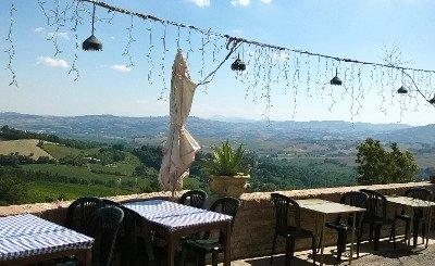 Vista Panoramica-Locanda Da Quaranta in Montefelcino (PU)