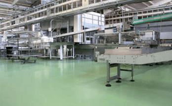 fornitura pavimentazione resina industria alimentare
