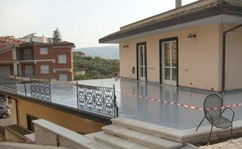 impermeabilizzazione terrazzi pavimentati