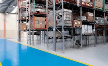 fornitura pavimentazione resina industria depositi e logistica salerno