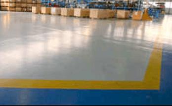 fornitura pavimentazione resina industria aeronautica
