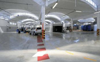 commercio pavimentazione resina autofficine e autorimesse