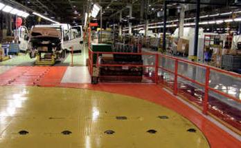 fornitura pavimentazione resina industria automotive