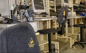 pavimentazione resina industria elettronica