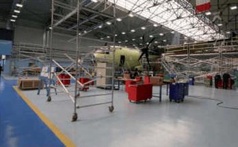 pavimentazione resina industria aeronautica salerno