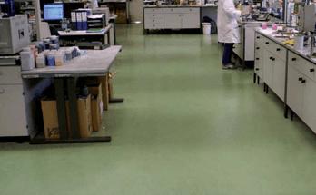 fornitura pavimentazione resina industria chimica