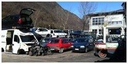deposito auto sinistrate