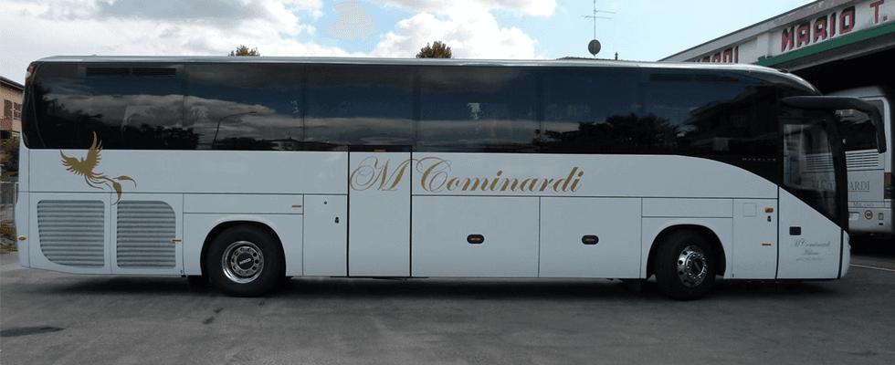 noleggio bus per  tour operator