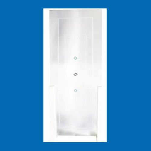 vetro con decorazione