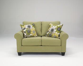 Green comfy sofa