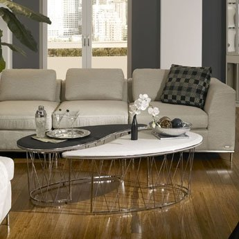 Modern look for living room