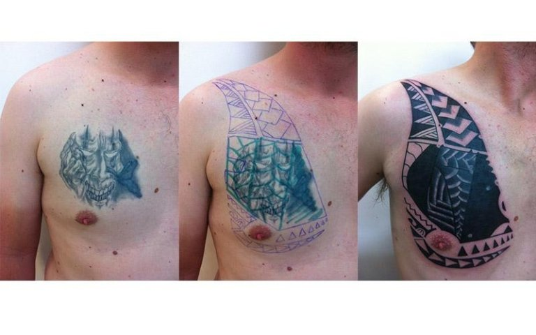 Cover up tribale