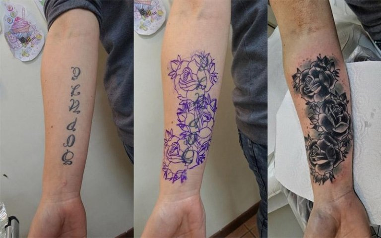 Cover up nome fiore