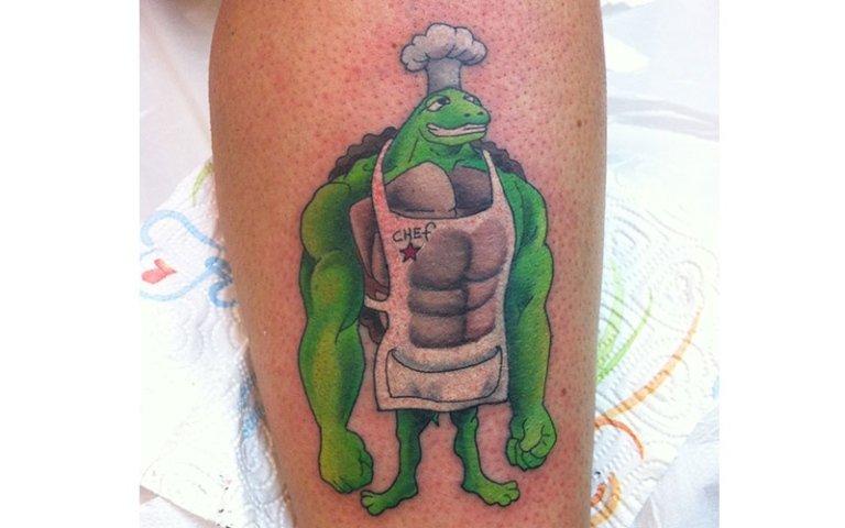 tatuaggio tartaruga