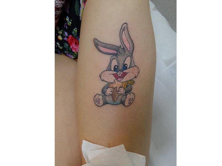 Tatuaggio coniglio