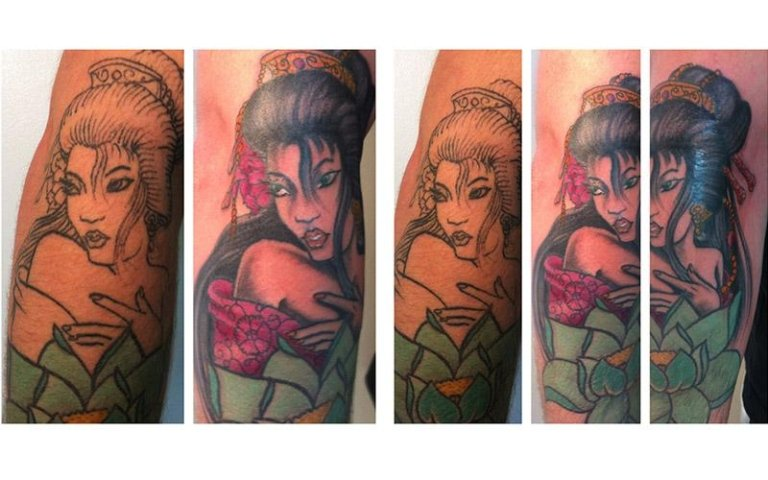 Cover up giapponese