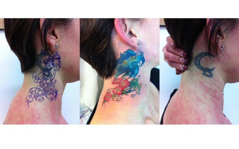 Cover up fiore
