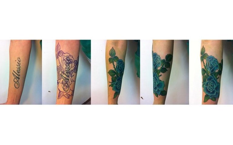 Cover up nome