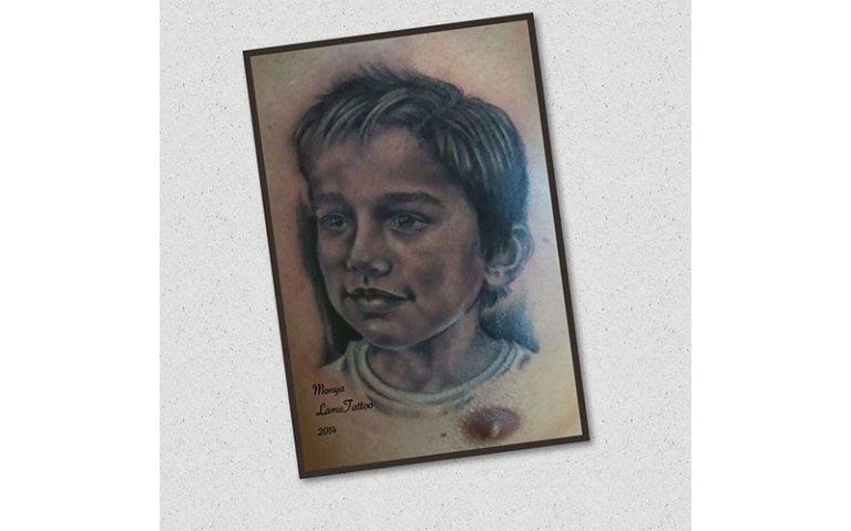 tatuaggio bambino