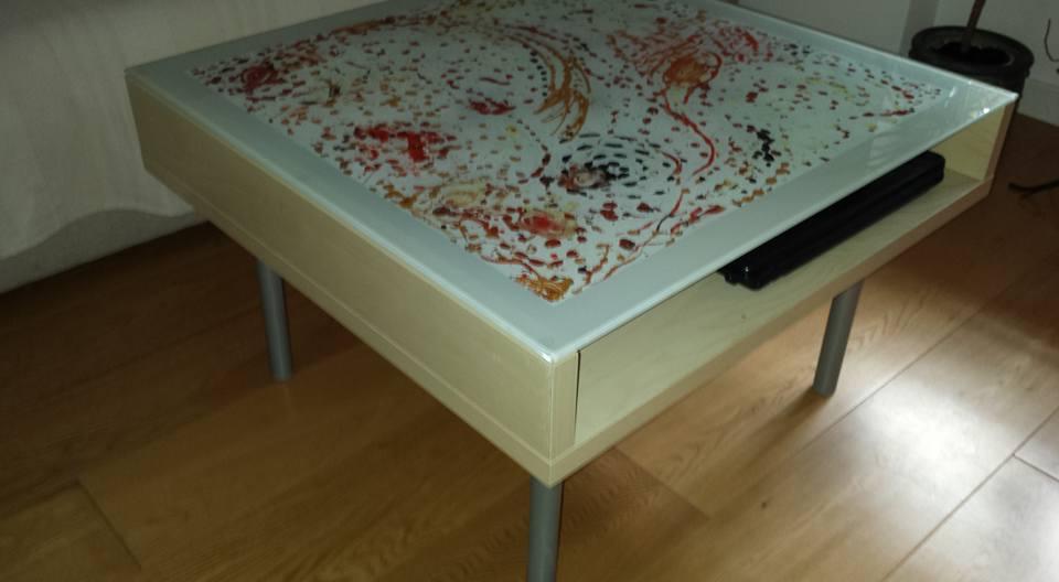 decorazione tavolino