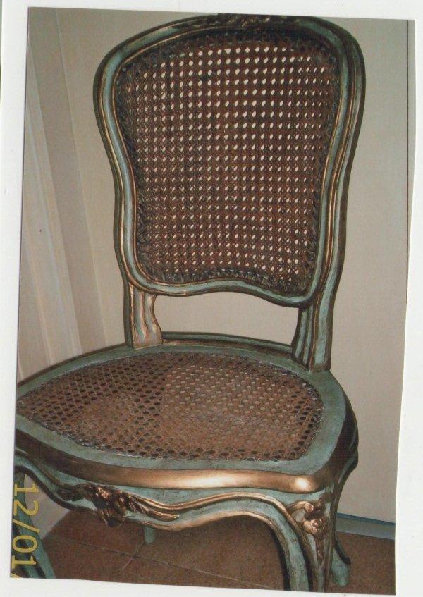 Restauro sedia anticao