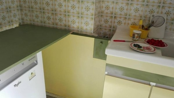 Restauro mobile cucina