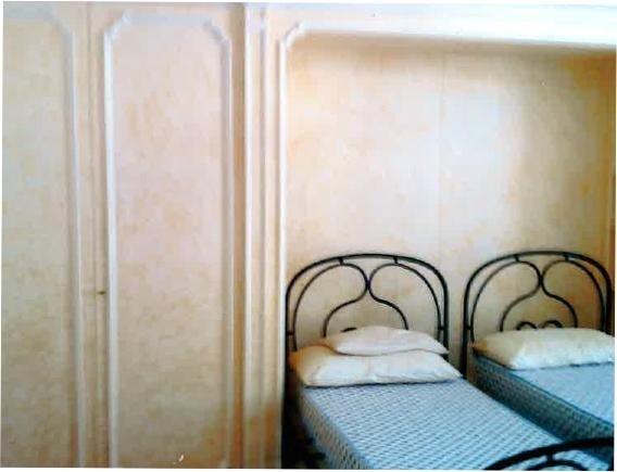 Restauro parete ed armadio