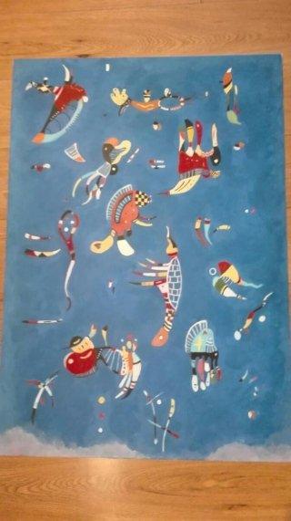 Copia sul tela di Kandinsky