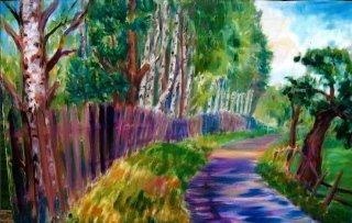 pittura olio roma