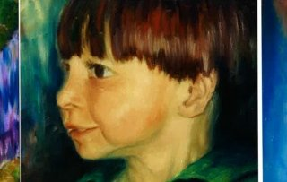 ritratti pittura roma