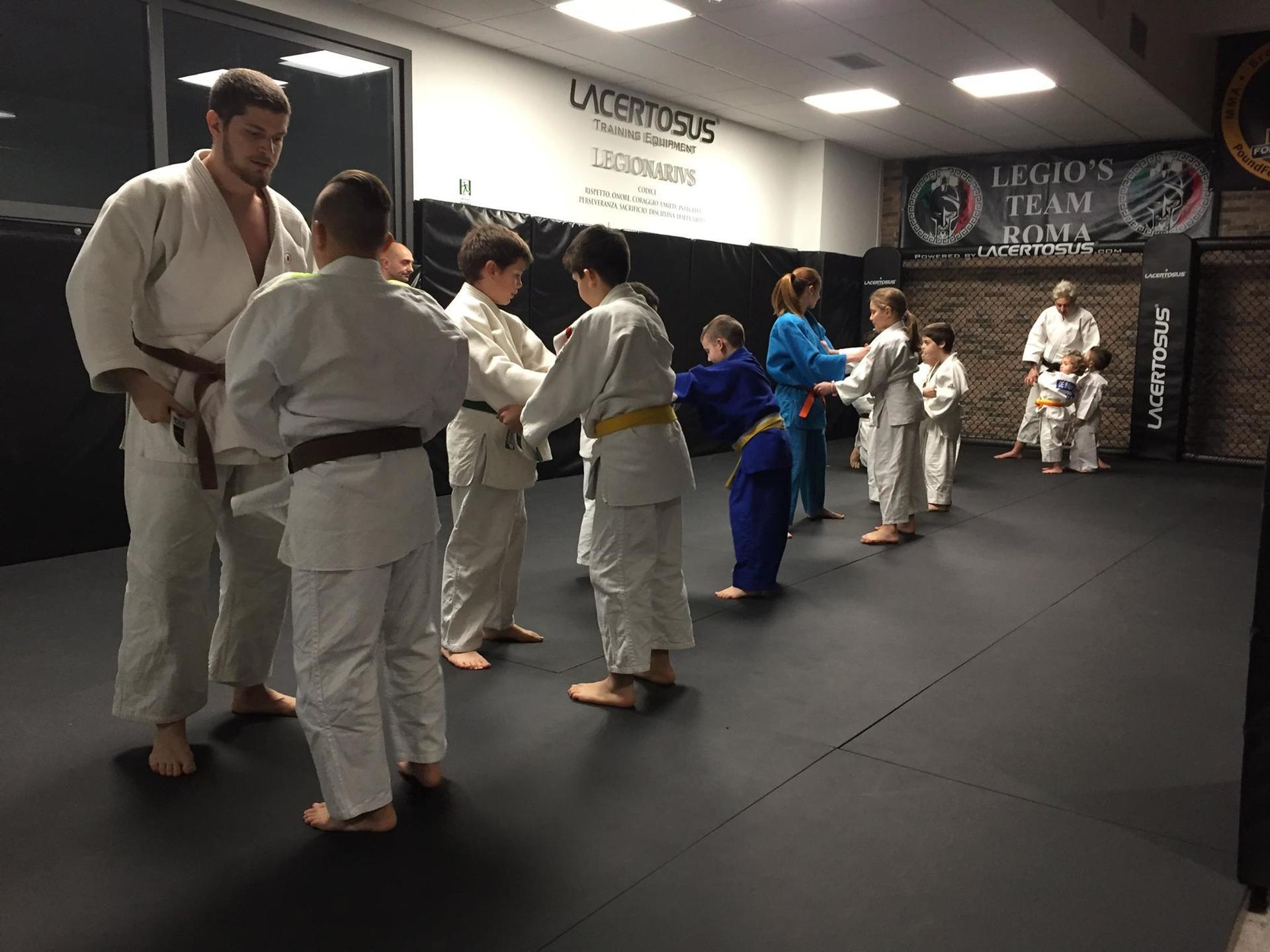 lezioni Judo