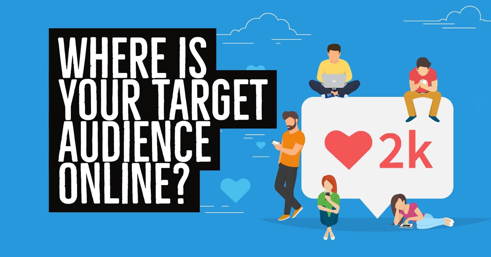 target audience And that's the metaphor that kitty lusby, content manager at neonbrand  digital marketing, uses for determining a target audience for your.