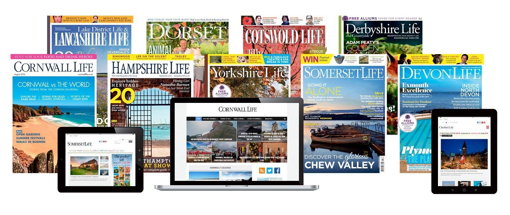 County lifestyle magazine Portfolio image