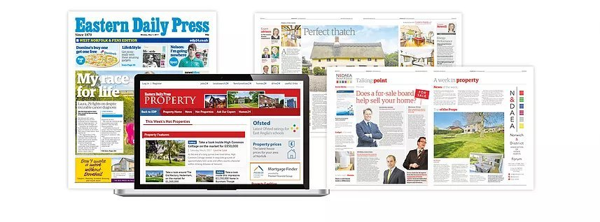 Eastern Daily Press  - Property advertising