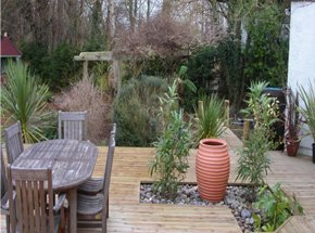 Decking - Swindon, Wiltshire - Plantaholix - Garden designs