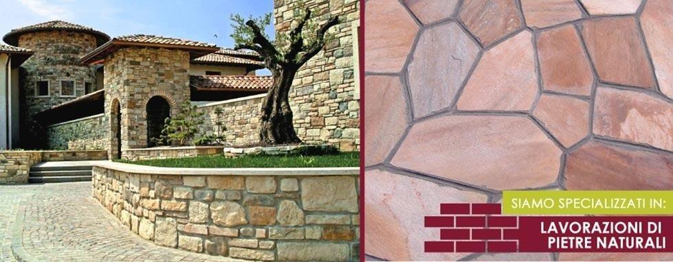 pareti pietra naturale