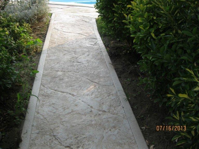Pavimento Stampato realizzato da Cave Rottini