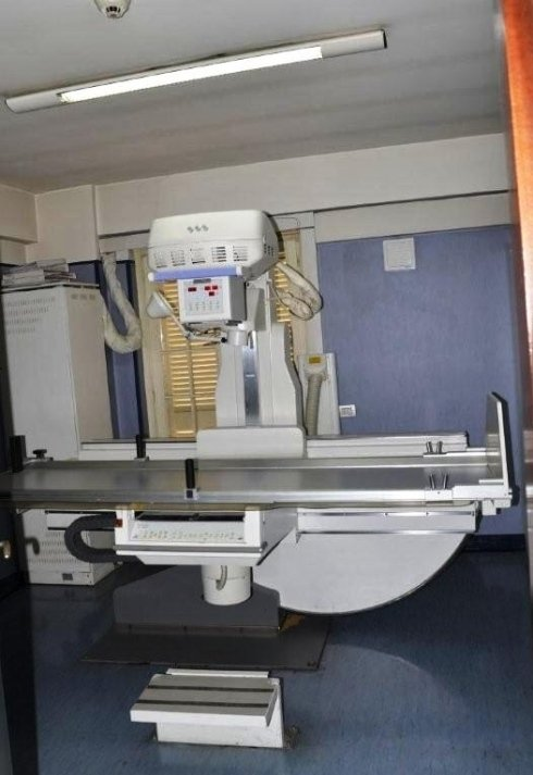 La sala radiologia