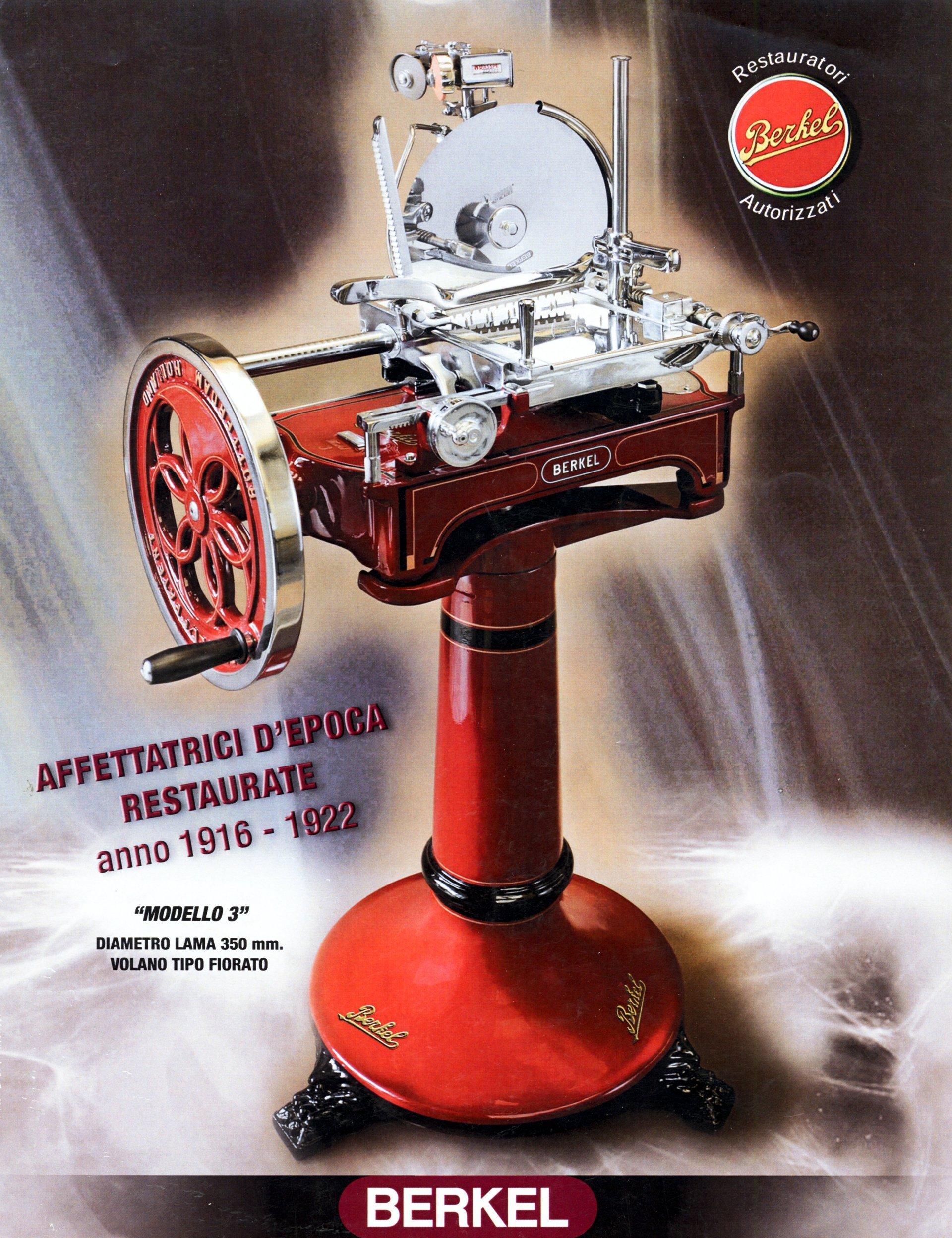 poster bilancia rossa d'epoca