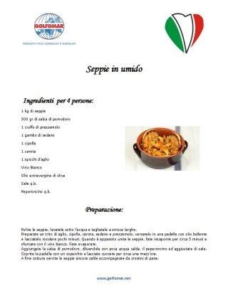 Cuttlefish stew Golfomar La Spezia