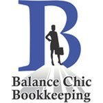 balance chic bookkeeping logo