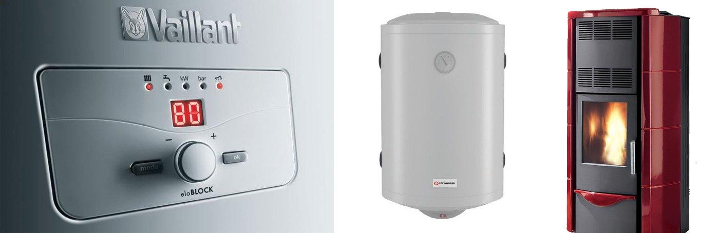 boiler e dettaglio caldai